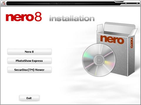 Nero 8 โปรแกรมเผาแผ่น