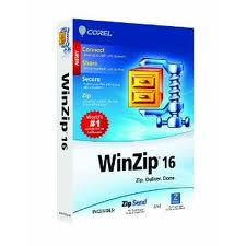WinZip 16 โปรแกรมแตกไฟล์ และบีบอัดไฟล์ให้เล็กลง
